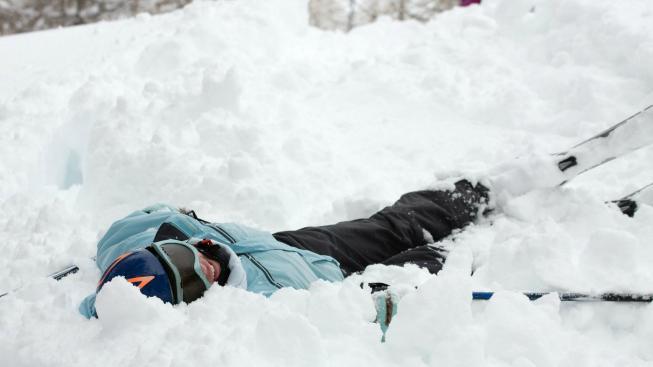 Zranění na lyžích