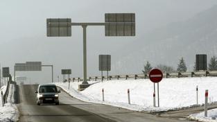 Namrzlá dálnice
