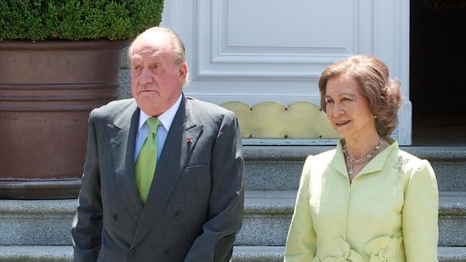 Král Juan Carlos, královna Sofia