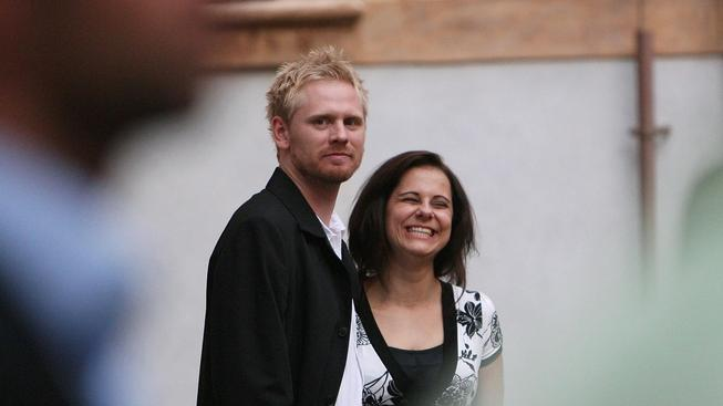 Jaroslav Plesl s manželkou