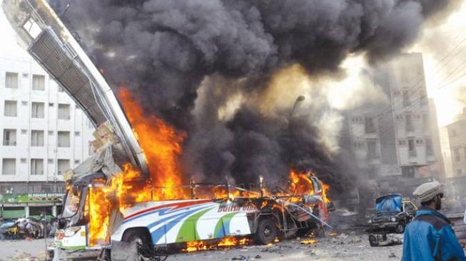 Pumový útok v Karáčí