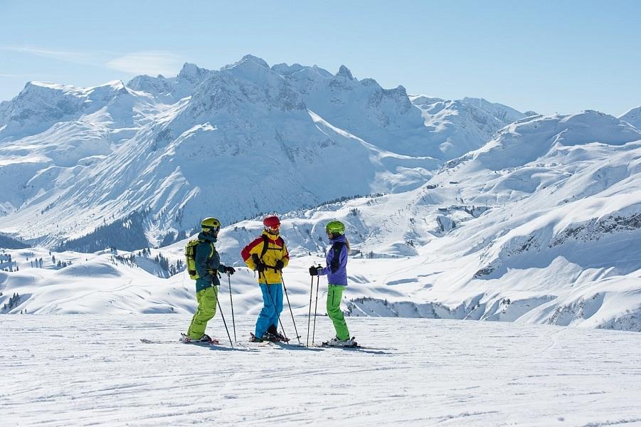 Z luxusu do sněhu. Nové spojení mezi středisky Lech Zürs a Warth-Schröcken
