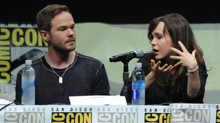 Ellen Pageová (vpravo)
