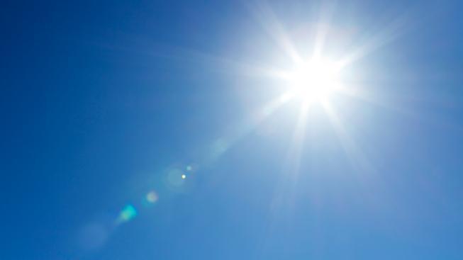 Slunce (ilustrační foto)