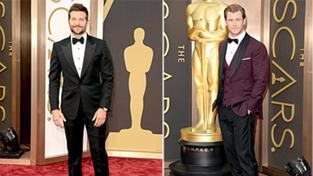 Nejlépe oblečení muži na Oscarech