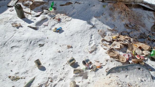 Odpad na Everestu