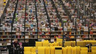 Sklad Amazonu (ilustrační fotografie)