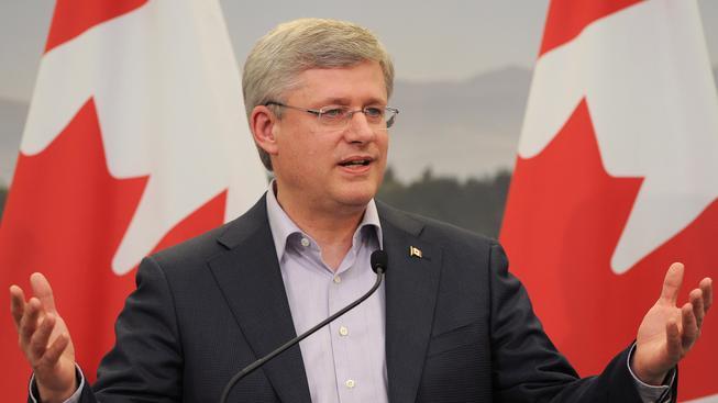 Kanadský premiér Stephen Harper