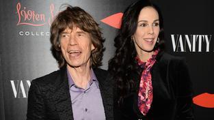 Mick Jagger a L'wren Scott
