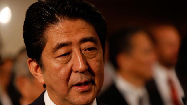 Premiér Šinzó Abe