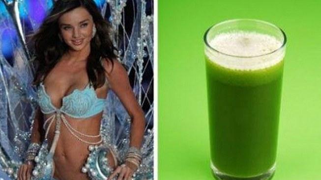 Miranda Kerr si oblíbila zelené koktejly – co se v nich skrývá?