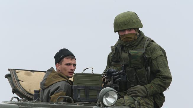 Ruští vojáci (ilustrační fotografie)