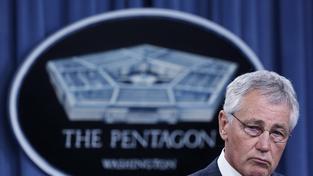 Americký ministr obrany Chuck Hagel