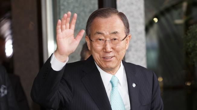 Generální tajemník OSN Pan Ki-Mun přiletěl na oficiální návštěvu ČR