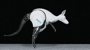 Roboklokan umí dokonale napodobovat pohyb skutečných zvířat a navíc má uhlazený design. Zdroj: Oficiální web společnosti Festo