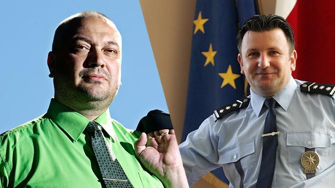 Kandidáti na šéfa policie Tomáš Tuhý a Dušan Brunclík