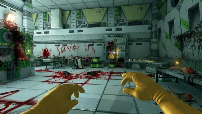 Záběr z hry Viscera Cleanup Detail. Zdroj: Viscera Cleanup Detail official
