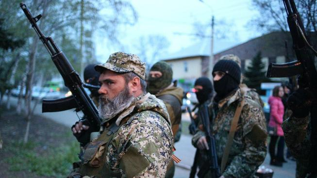 Ozbrojenci v Doněcku