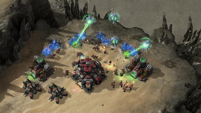 StarCraft II: Heart of the Swarm. Ilustrační snímek