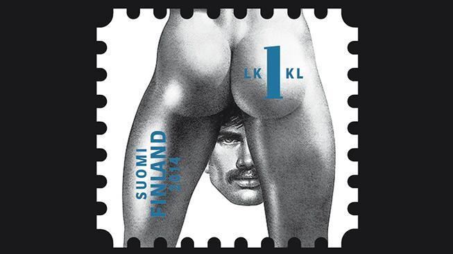 Finská pošta vydá známky s homoerotikou slavného umělce Touka Laaksonena