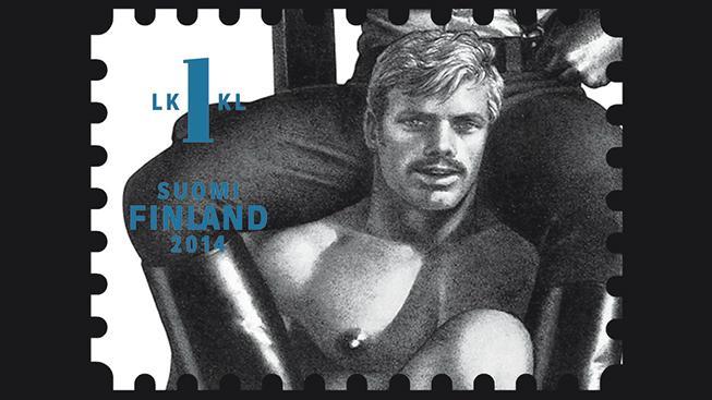 Poštovní známky, Touko Laaksonen