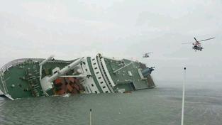 Nehoda jihokorejského trajektu