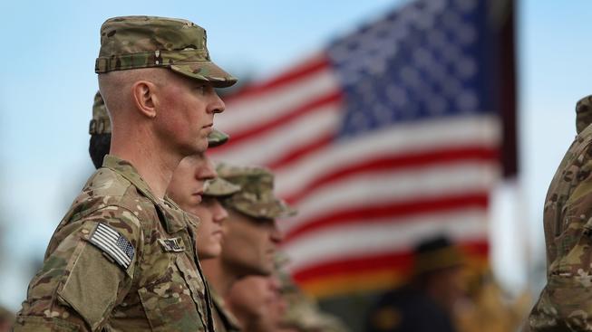 Američtí vojáci, ilustrační snímek
