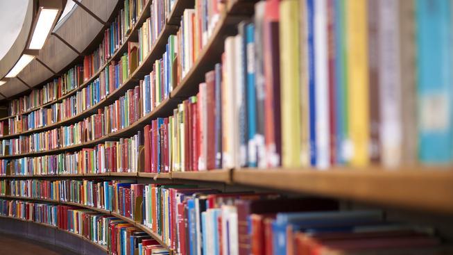 Knihy (ilustrační fotografie)