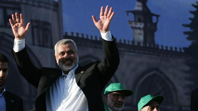 Ismaíl Haníja, jeden z vůdců Hamasu