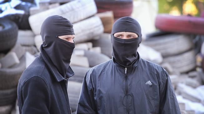 Proruští separatisté v Doněcku