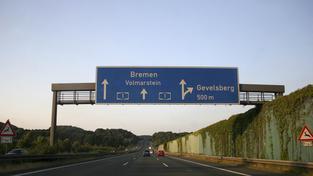 Německá dálnice (ilustrační fotografie)
