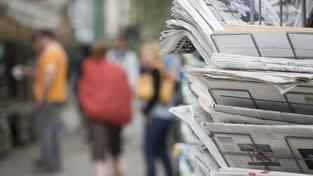 Noviny (ilustrační fotografie)