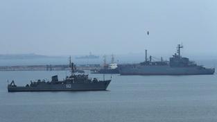 Ruské válečné lodě (ilustrační fotografie)