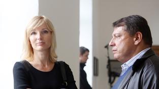 Petra Paroubková s manželem Jiřím Paroubkem