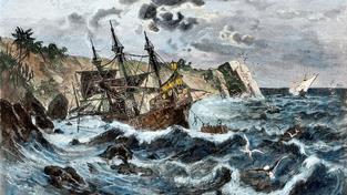 Karavela Santa Maria, vlajková loď Kryštofa Kolumba