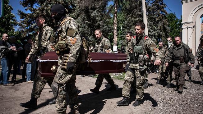 Oběti na životech na Ukrajině
