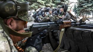 Nepokoje v Slavjansku