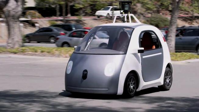 Samořídící vozítko společnosti Google