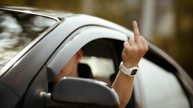 Agresivní řidič
