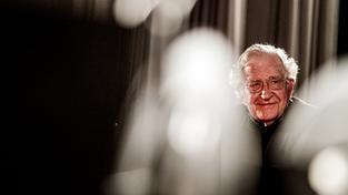 Americký lingvista a filosof Noam Chomsky