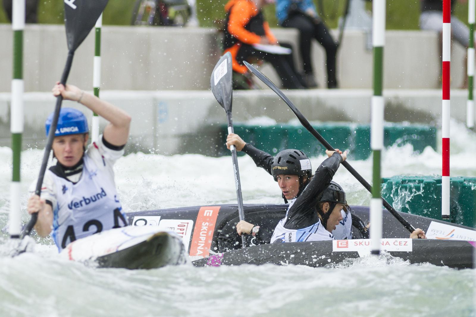 Druhý závod SP vodních slalomářů se jede v Tacenu
