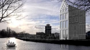 Projekt domu, který chce holandská firma vytisknout na 3D tiskárně