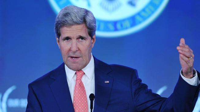 Ministr zahraničí John Kerry