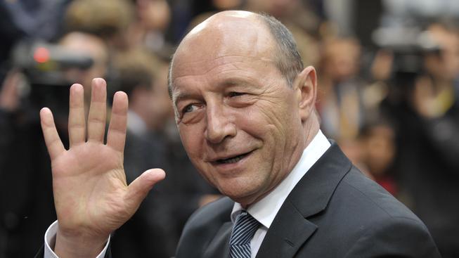 Rumunský prezident Traian Basescu
