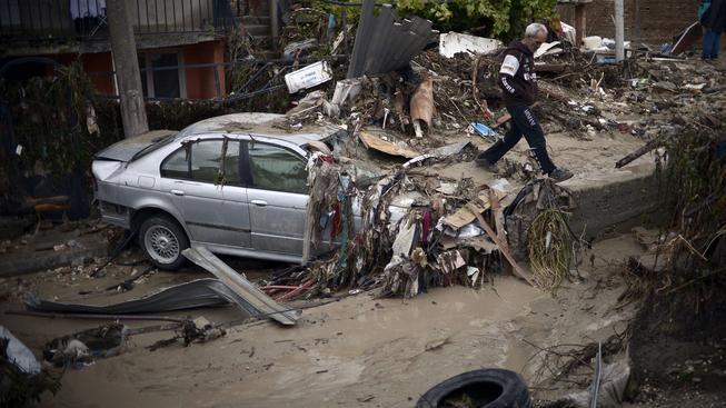 Záplavy v Bulharsku