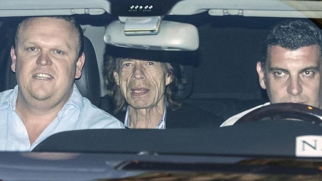 Mick Jagger v Římě