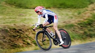 Martina Sáblíková na kole