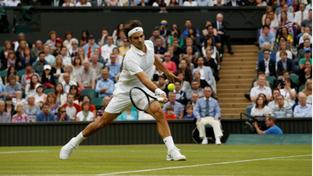 Robredo versus Federer: Jako David s Goliášem