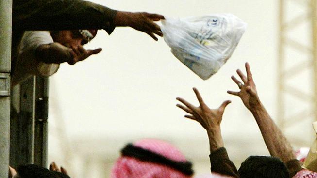 Humanitární pomoc (ilustrační obrázek)
