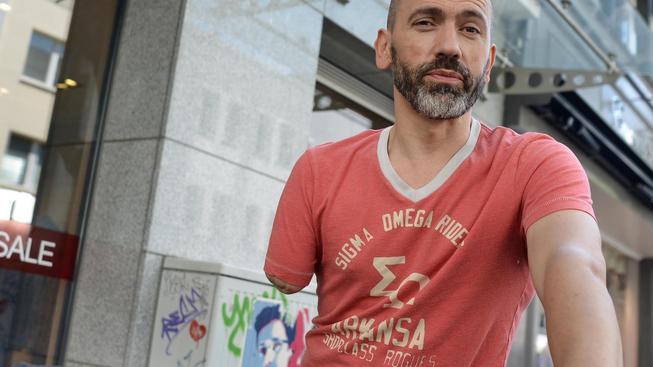 Bogdan Ionescu má kolo upravené tak, aby jezdil bezpečně